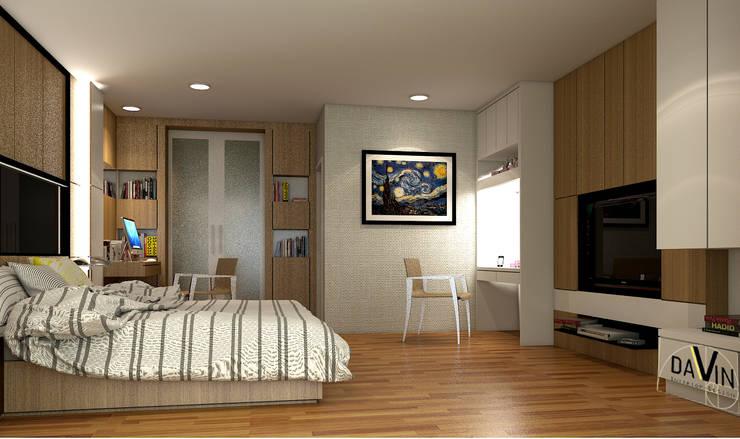 ออกแบบตกแต่งภายใน Home office @ Biz home Onnuch :  ตกแต่งภายใน by Davin Interior Co., Ltd