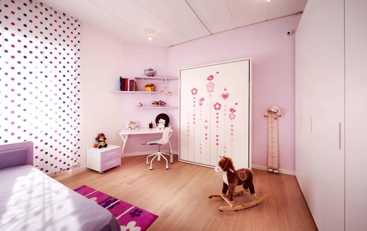 Dormitorios infantiles de estilo moderno por Gruppo Castaldi | Roma