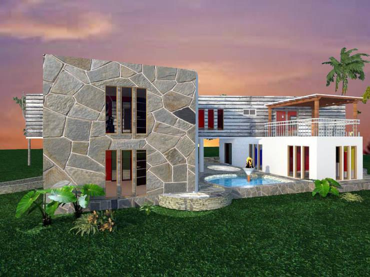 CASA FUNDO EL PERAL:  de estilo  por Arquiconst Arquitectos