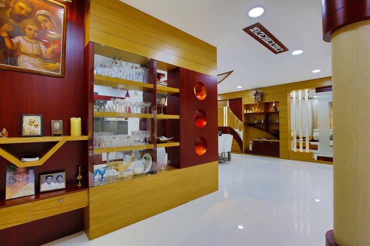 Elegance at Its Best!:  Dining room by Premdas Krishna