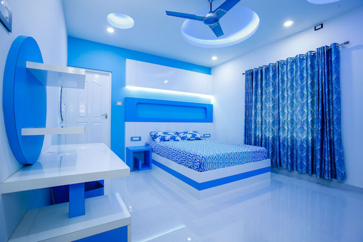 Feel Beauty of Richness..:  Bedroom by Premdas Krishna