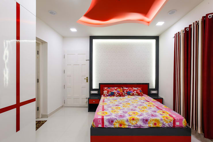 Feel Beauty of Richness..: classic Bedroom by Premdas Krishna