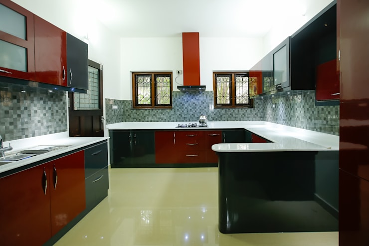 Feel Beauty of Richness..: classic Kitchen by Premdas Krishna