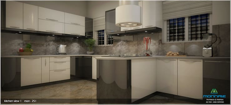 Timeless Beauty...: classic Kitchen by Premdas Krishna