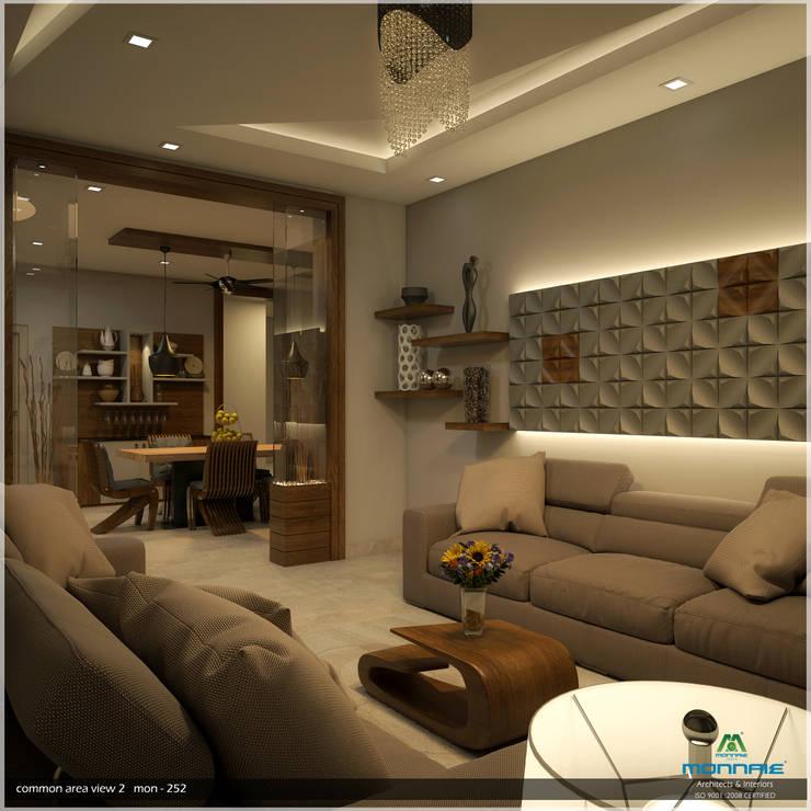 Foliage Beauty...:  Living room by Premdas Krishna