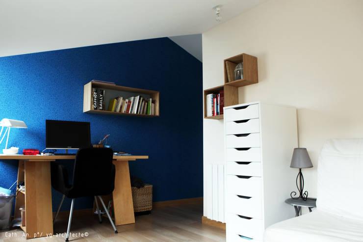 bureau: Bureau de style  par yg-architecte