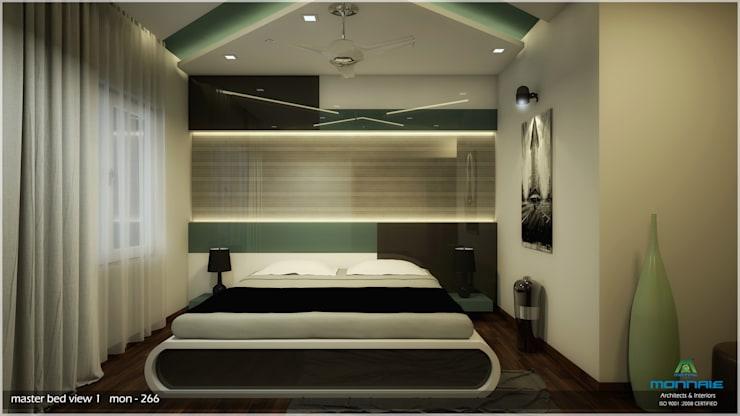 Incredible Amount of Details:  Bedroom by Premdas Krishna ,Classic