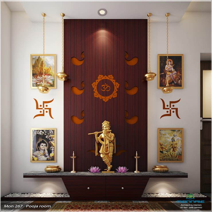 14 Amazing Living Room Designs Indian Style Interior And: 10 Pictures Of Mandir Designs For Your Home