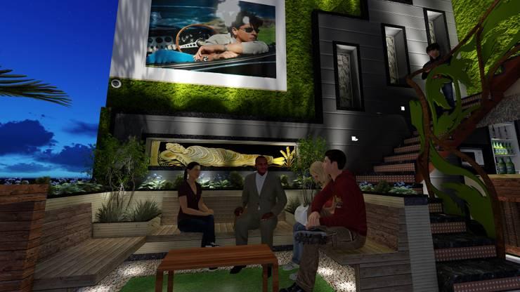 Terrace Garden Design:  Garden by Studio Machaan
