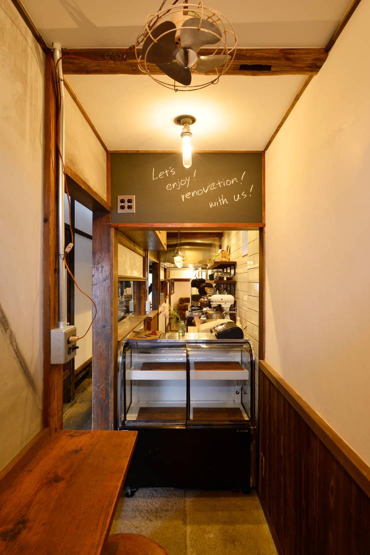 見せる厨房: 株式会社SHOEIが手掛けたキッチンです。,オリジナル