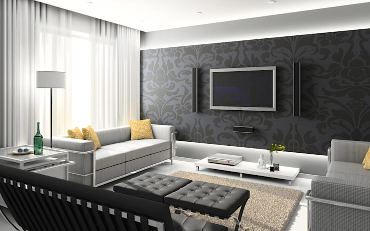 Living room by Edilizia Software