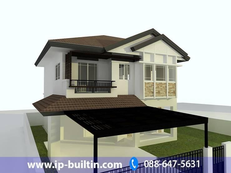 ตกแต่งภายใน  บ้าน มัณฑณา หน้าบ้าน:   by IP BUILT IN