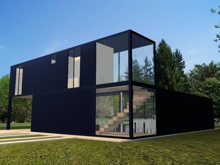 Maisons de style  par PRISCILLA BORGES ARQUITETURA E INTERIORES