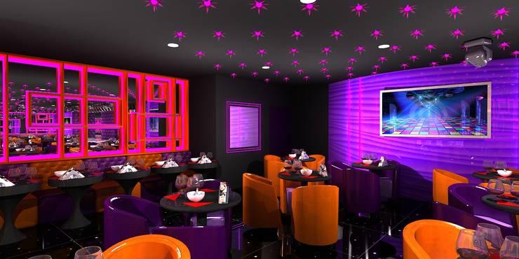 Antakshari Night club:  Bars & clubs by Gurooji Design
