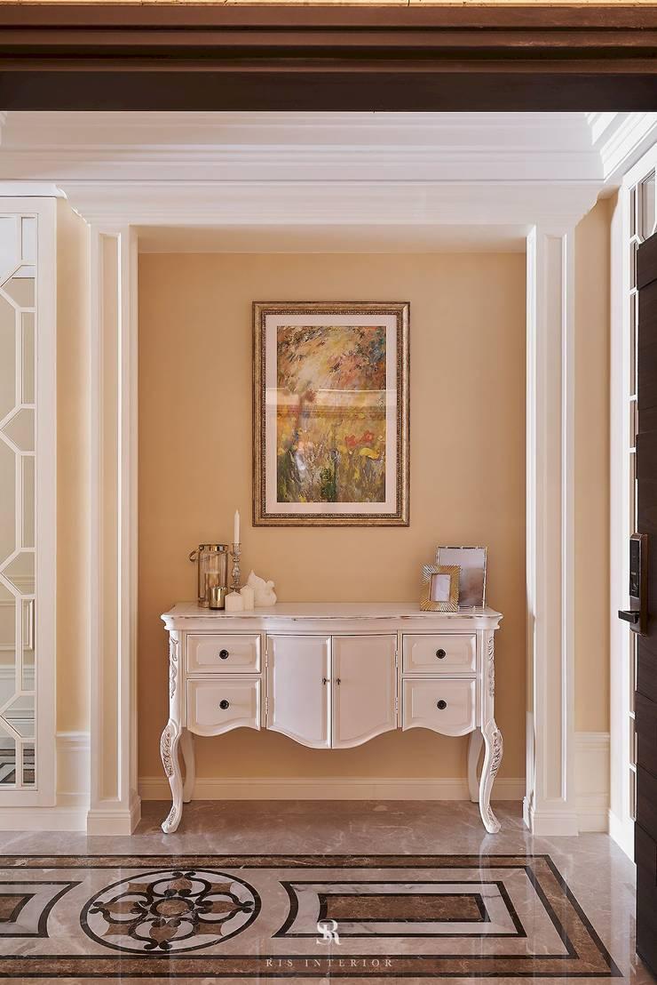 托斯卡尼.Giorno|Tuscan Giorno:  走廊 & 玄關 by 理絲室內設計有限公司 Ris Interior Design Co., Ltd.