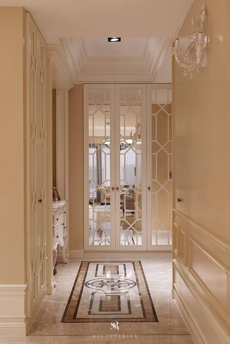 托斯卡尼.Giorno|Tuscan Giorno:  玄關、走廊與階梯 by 理絲室內設計有限公司 Ris Interior Design Co., Ltd.