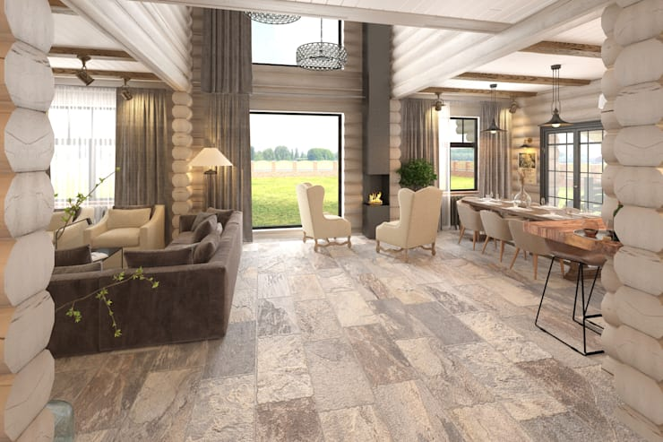 Living room by atmosvera