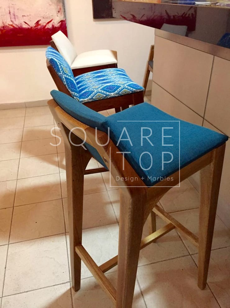 Silla de bar Versiliana, cocinas con mucho diseño: Hogar de estilo  por SquareTop Design,