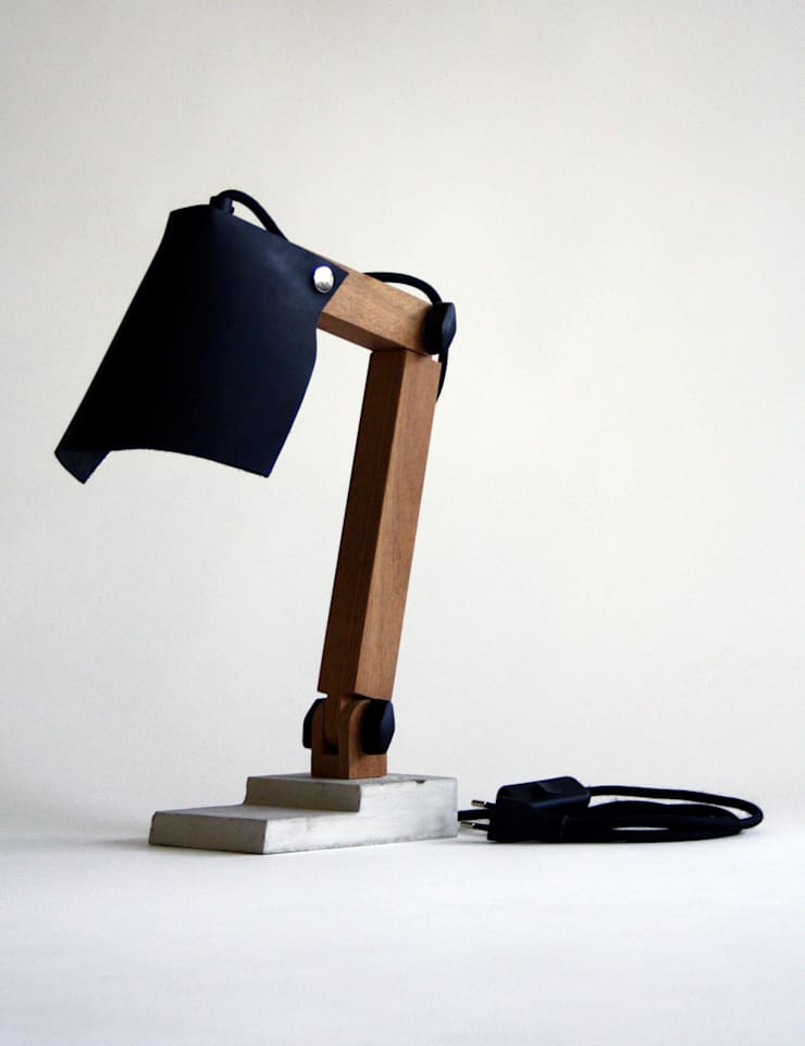 BigFoot lamp:   door Tim Vinke - Interior Design, Industrieel Beton