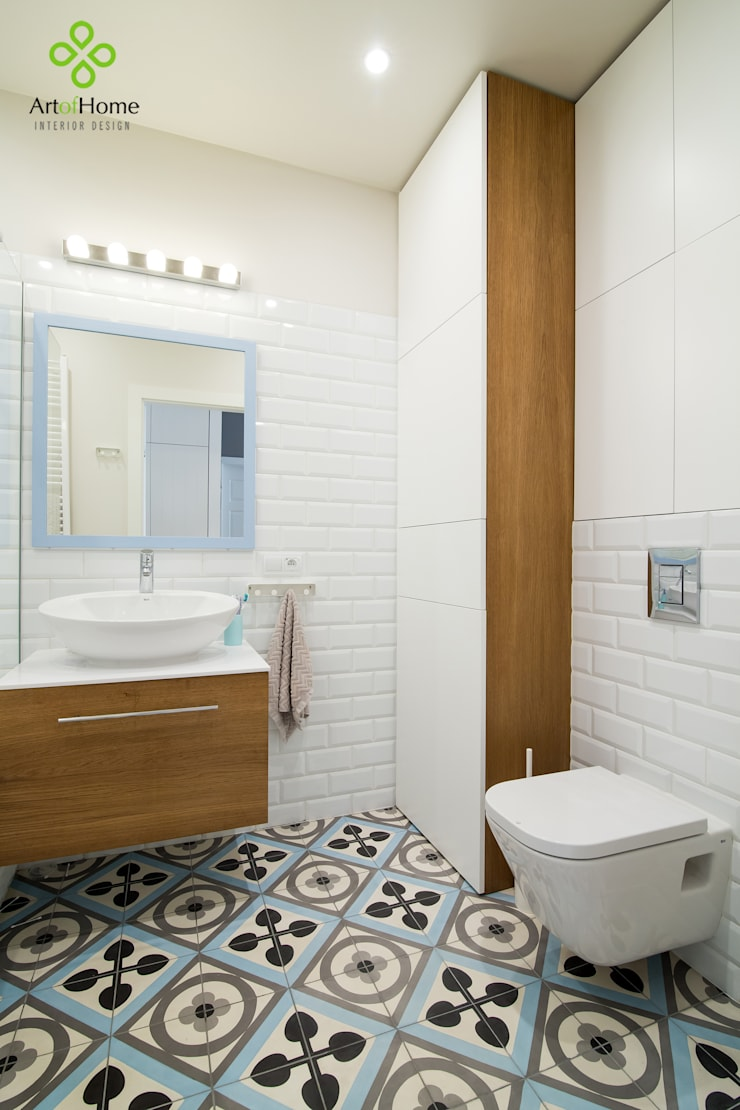 Bathroom by Art of home, Country