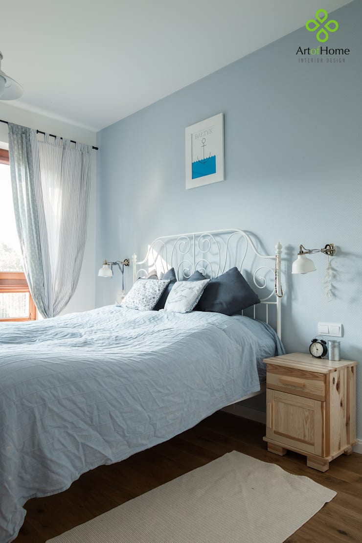 Bedroom by Art of home, Country