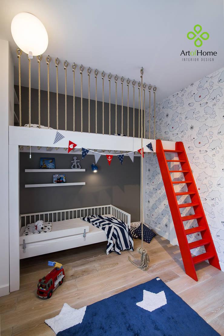 Cuartos infantiles de estilo  por Art of home, Moderno