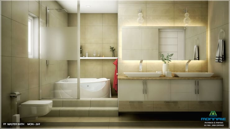 Traditional Treat: classic Bathroom by Premdas Krishna