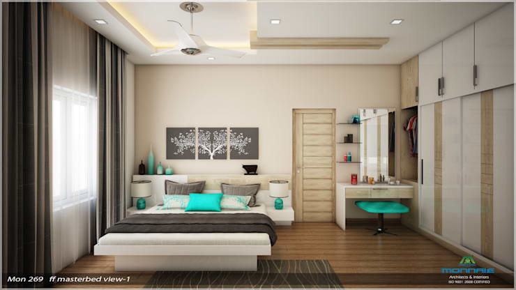Traditional Treat: classic Bedroom by Premdas Krishna