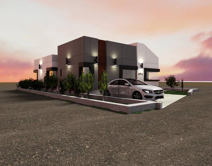 충청남도 금산시 전원주택: 디자인 이업의  주택