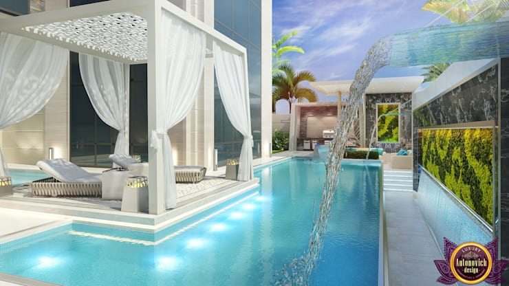 حديقة تنفيذ Luxury Antonovich Design