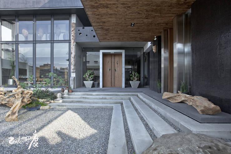 Zendo深度空間設計:  庭院 by Zendo 深度空間設計