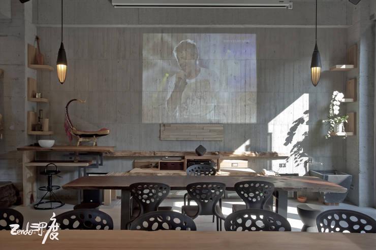 Zendo深度空間設計:  書房/辦公室 by Zendo 深度空間設計
