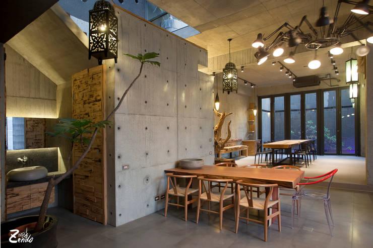 Zendo深度空間設計:  客廳 by Zendo 深度空間設計