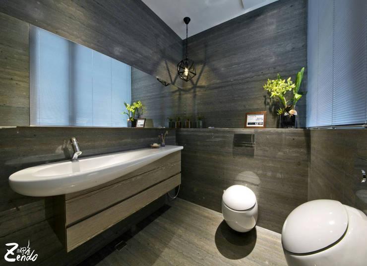 中山朕之道:  浴室 by Zendo 深度空間設計