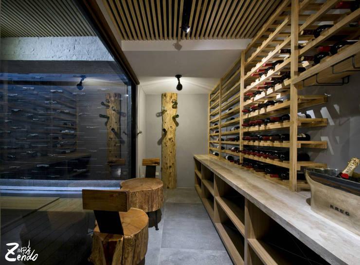 中山朕之道:  餐廳 by Zendo 深度空間設計