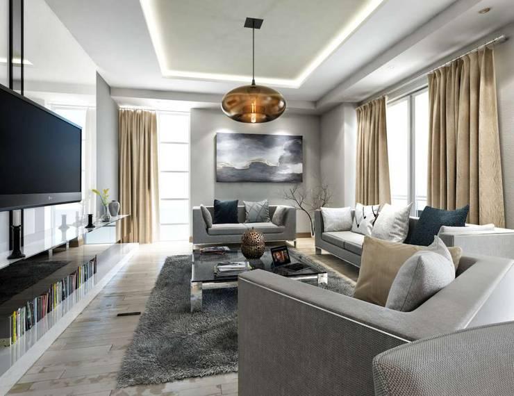 Projekty,  Salon zaprojektowane przez VERO CONCEPT MİMARLIK