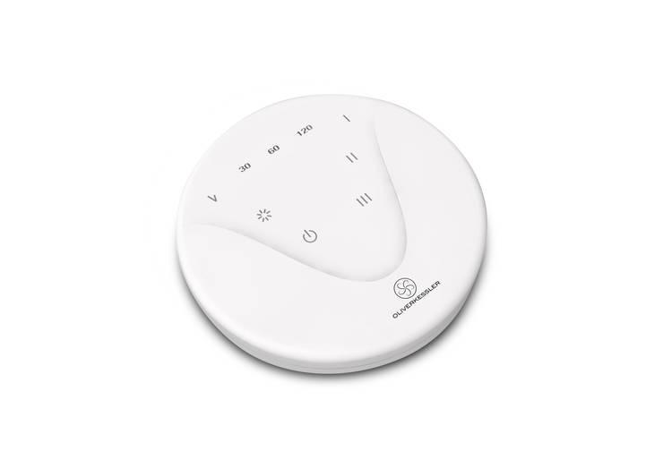 The Sensu Punkah - Fernbedienung: moderne Wohnzimmer von Oliver Kessler Design GmbH