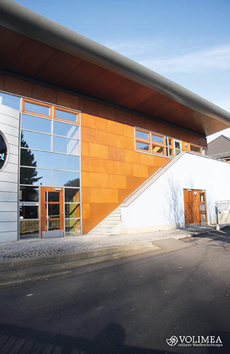Cortenstahl Und Rostoptik Fur Die Fassade Von Volimea Gmbh Cie Kg