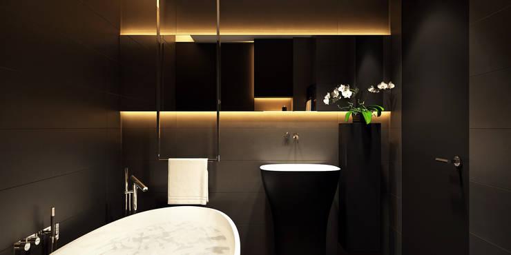 Projekty,  Łazienka zaprojektowane przez ART Studio Design & Construction