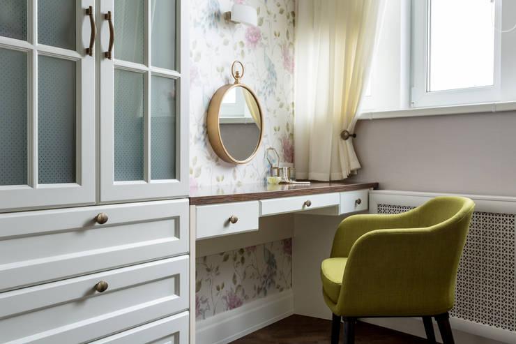 Projekty,  Sypialnia zaprojektowane przez N-HOME | Ната Хатисашвили