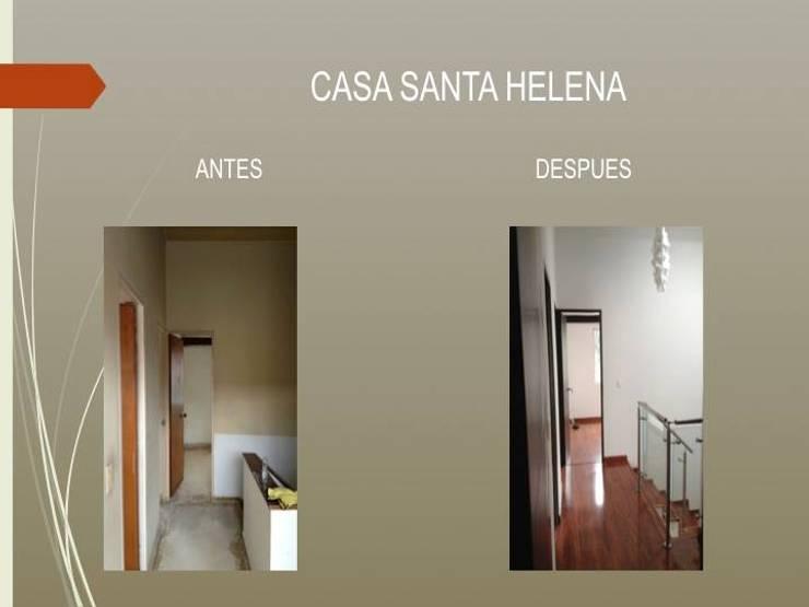 Hall habitaciones de Erick Becerra Arquitecto