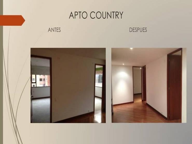 Cambio puertas piso techo:  de estilo  por Erick Becerra Arquitecto