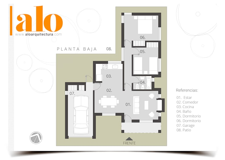 by ALO ARQUITECTURA
