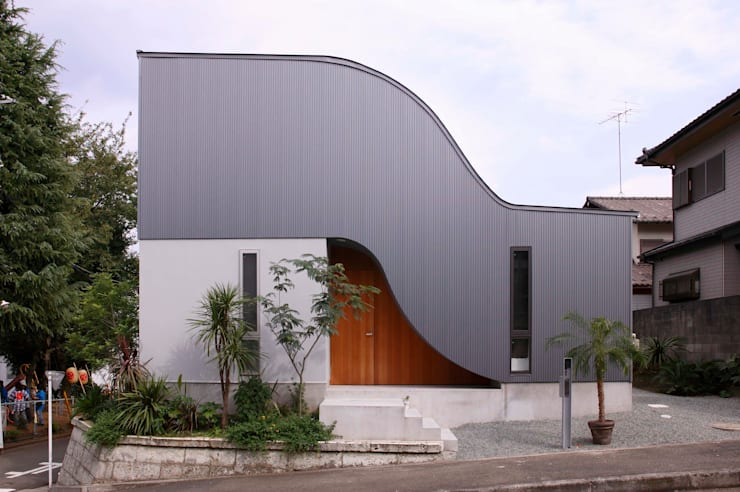 Casas de estilo  por 藤井伸介建築設計室