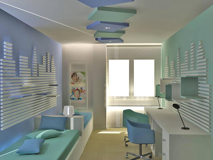 غرفة الاطفال تنفيذ JUSTO DEL RIO D.I.