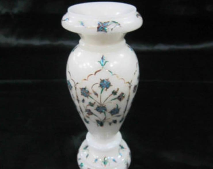 Flower vase inlay:   by Touseef international
