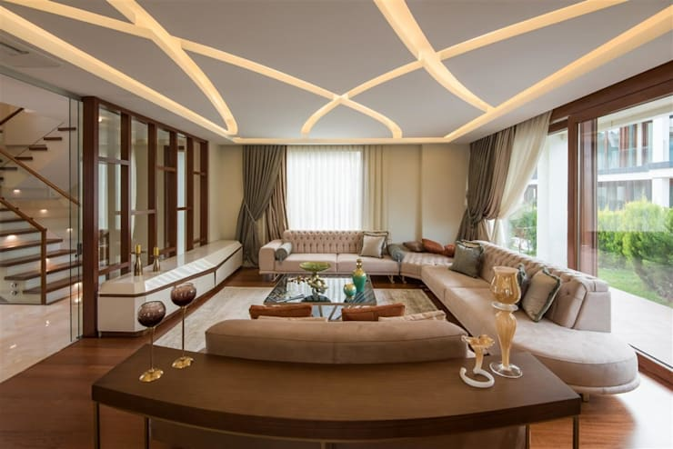 Living room by Macitler Mobilya