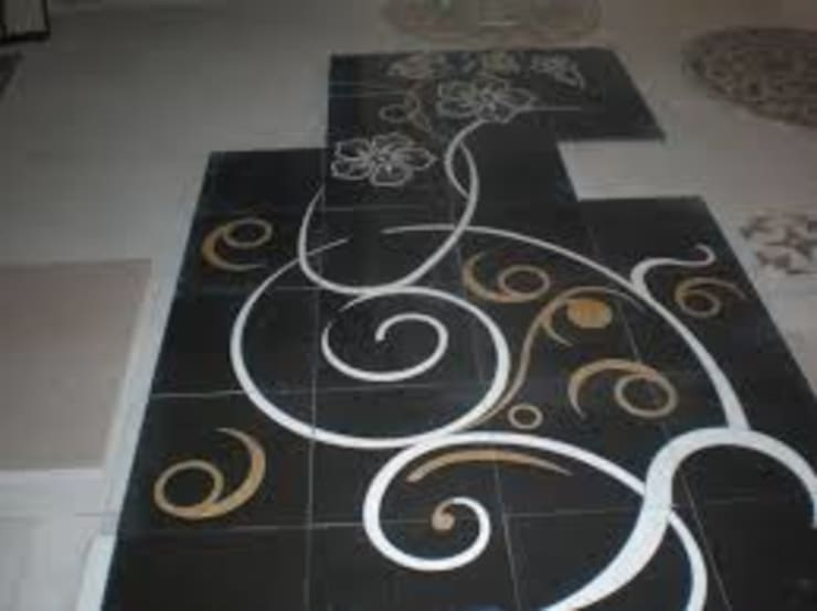 Marble inlay flooring :   by Touseef international