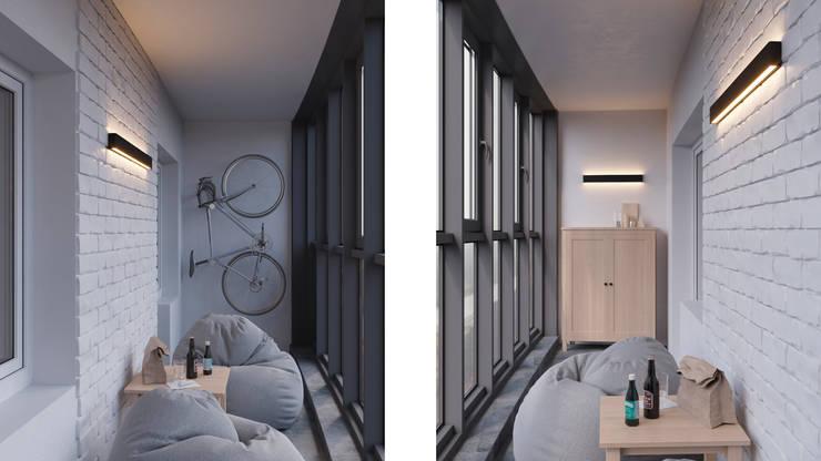 Projekty,  Taras zaprojektowane przez Anastasya Avvakumova