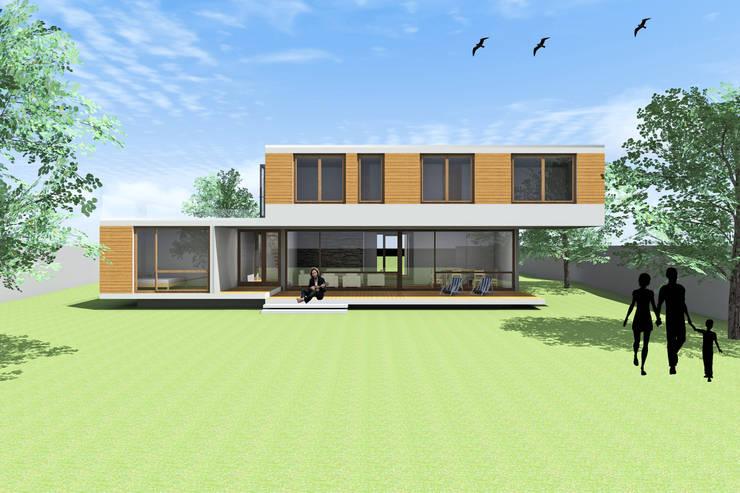 CASA PIRQUE: Casas de estilo  por Arc Arquitectura